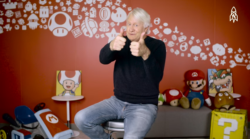 Charles Martinet, voice of Mario for Nintendo