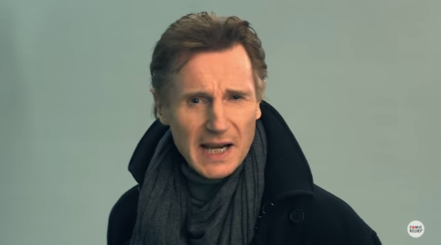 Liam Neeson Auditions for Stephen Hawking Voice
