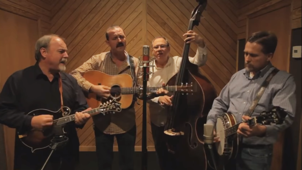 Check out this incredible bluegrass cover of 'Rocket Man'
