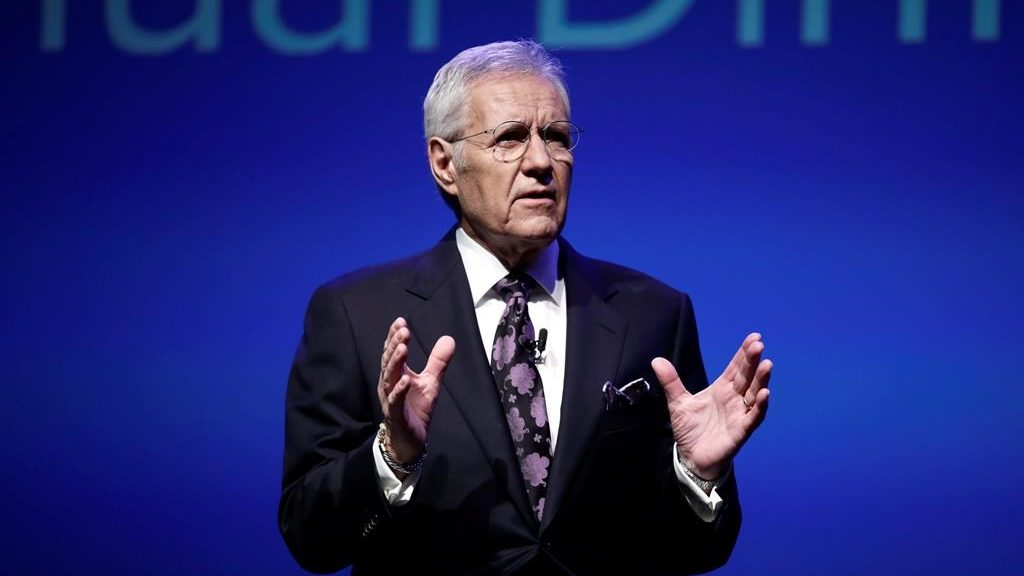 Alex Trebek posts new video on his cancer therapy: 'I'm feeling good.'