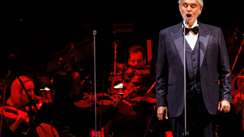 Andrea Bocelli In Concert - Vancouver, BC